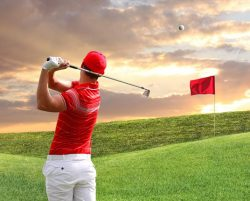 improve your golf swing with a golf instructional book